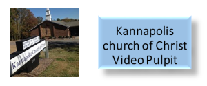Kannapolis church of Christ